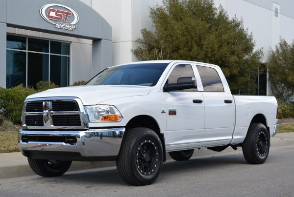 "2012 RAM 2WD 2500 | 3.5"" LIFT (SHOWN WITH 1"" REAR KIT) 33"" TIRES"