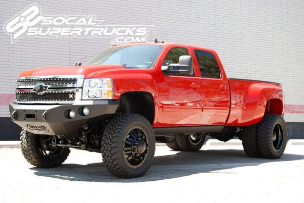 6 to 8 inch LIFT KIT | 2011+ GMC and Chevy 2500HD / 3500 / 3500 Dually