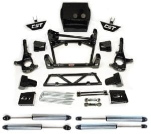 "LIFT KIT W/ 2.0 EMULSION SHOCKS | 2011+ GM 2500HD | 6-8"" STAGE 3"