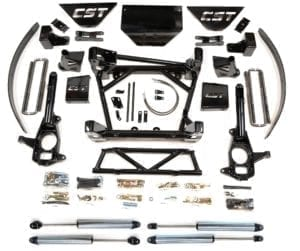 "LIFT KIT W/ 2.0 EMULSION SHOCKS | 2011+ GM 2500HD/3500/3500HD | 8-10"" STAGE 4"