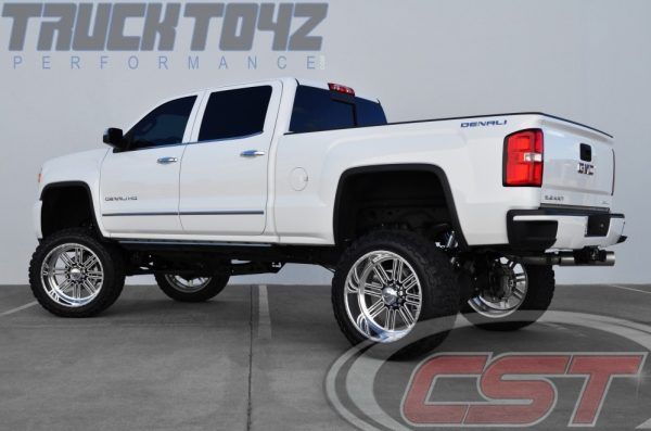 """2011+ GM 2500HD   CST 8-10"""" (set at 10 with 37s on 24s)"""