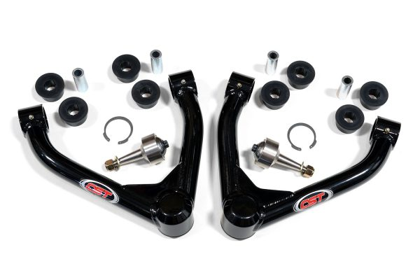 DIRT-SERIES MID-TRAVEL UPPER ARMS   2007-2018 GM 1500   (STOCK TAPER)