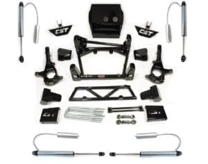 "LIFT KIT W/ 2.0 SHOCKS | 2011+ GM 2500HD | 6-8"" STAGE 4"