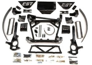 "LIFT KIT | 2011+ GM 2500HD/3500/3500HD | CST 8-10"" STAGE 3"