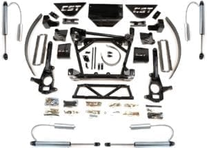 "LIFT KIT | 2011+ GM 2500HD | 8-10"" STAGE 6"