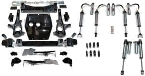 "S.T.L. High Clearance LIFT KIT | 2011+ GM 2500HD | 3-6"" STAGE 7"