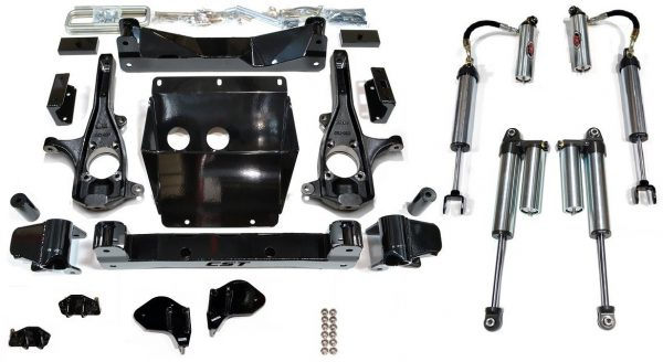 "S.T.L. High Clearance LIFT KIT | 2011+ GM 2500HD | 3-6"" STAGE 6"