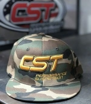 CST Snapback / Gold on Camo