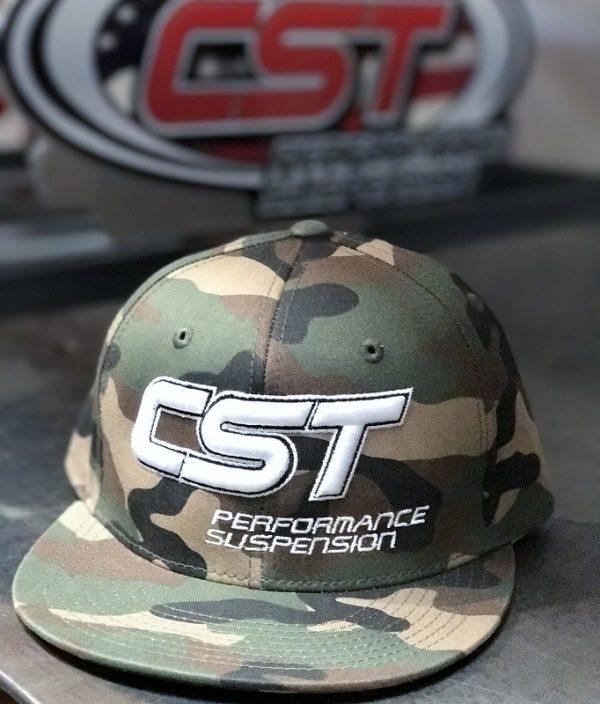 CST Snapback / White on Camo