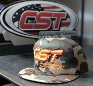 CST Snapback / Orange on Camo