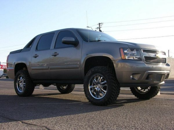 "2007-2013 1500 2WD AVALANCHE| 5.5"" SPINDLE LIFT + REAR 3"""